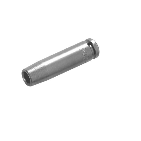 "SF-15MM23 Apex 15mm Surface Drive Metric Long Impact Socket, 3/8"" Square Drive"